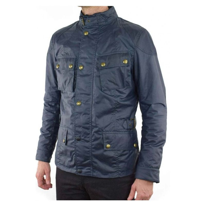 Cassian John Wick 2 Blue Cotton Jacket