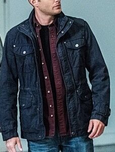 Navy Blue Dean Winchester Jacket