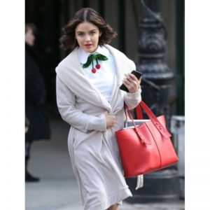 Lucy Hale Katy Keene White Coat