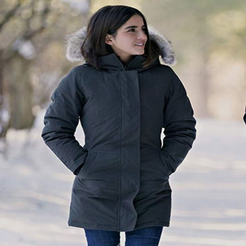 Let It Snow Isabela Moner Coat With Hood