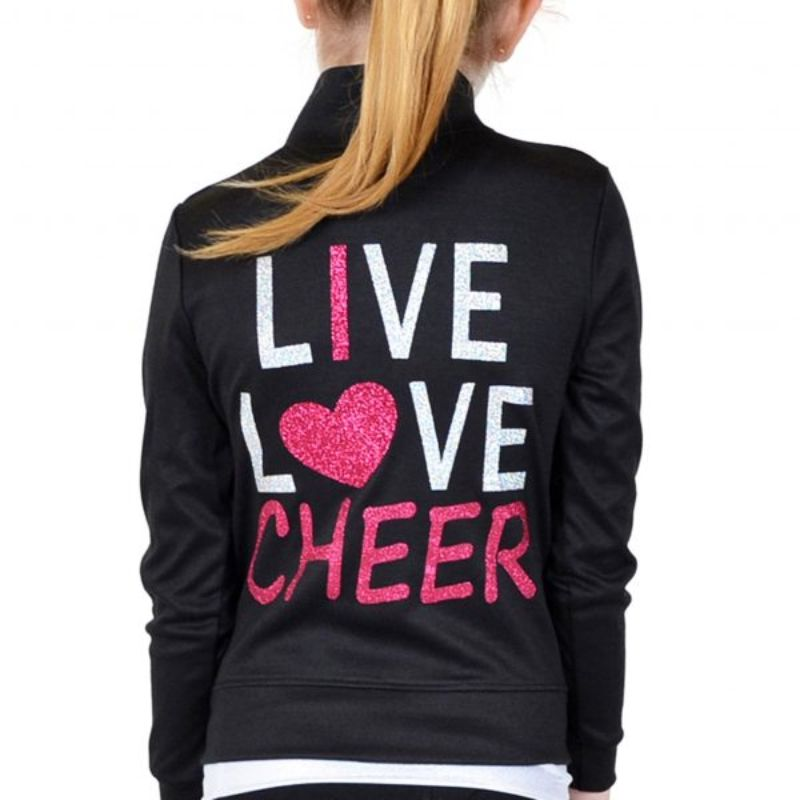 Live Love Cheer Warm Up Jacket
