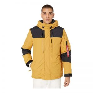 Mens Yellow Parka