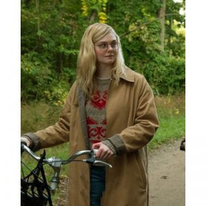 All The Bright Places Violet Markey Brown Coat
