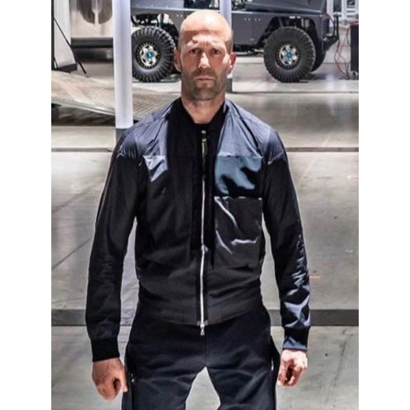 Fast & Furious Deckard Shaw Black Jacket