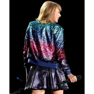 Taylor Swift Ombre Sequin Jacket