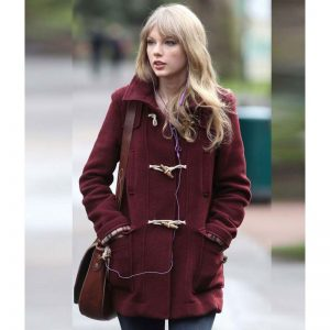 Taylor Swift Bound Seam Toggle Coat
