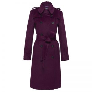 Purple Upload Nora Coat