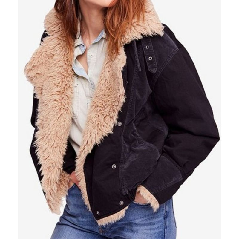 Taylor Swift Sherpa Bomber Jacket