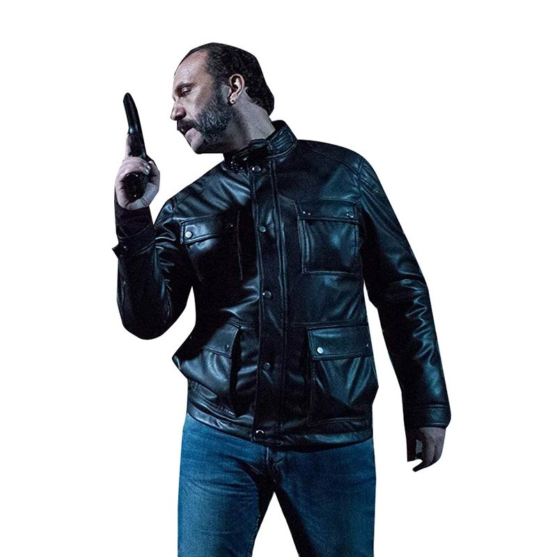 The Whistlers Carlito Leather Jacket