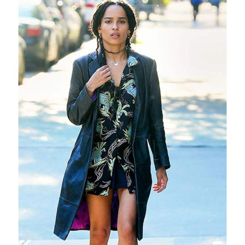 High Fidelity Zoë Kravitz Coat