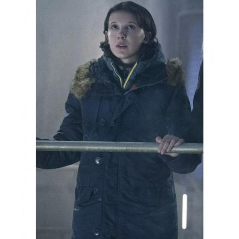 Millie Bobby Brown King of the Monsters Coat