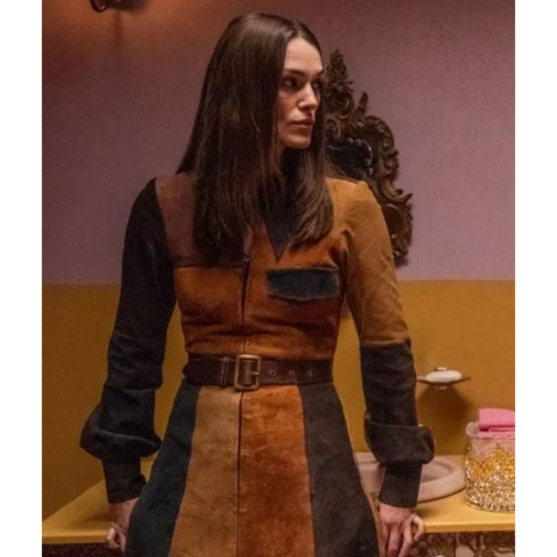 Keira Knightley Misbehaviour Coat